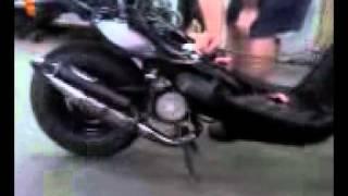 9. 2005 Yamaha Zuma 70cc Athena kit Athena pipe