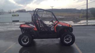 2. 2012 Polaris Ranger RZR S 800 Orange Madness/Black LE at Tommy's Motorsports