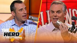 Doug Gottlieb explains why he wasn't impressed by Zion's NBA debut | NBA | THE HERD by Colin Cowherd