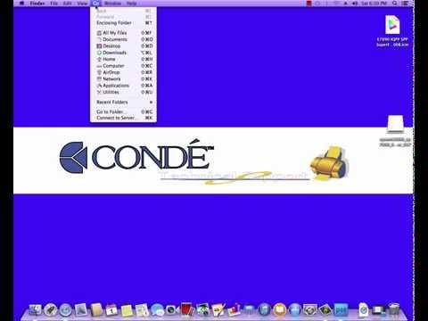 Setup the Epson 7890/9890 Printers as Network Printer on Mac -