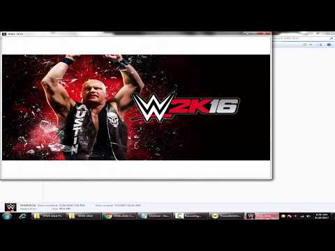 How To Download And Install WWE 2K16 On PC (Download Link + Gameplay)