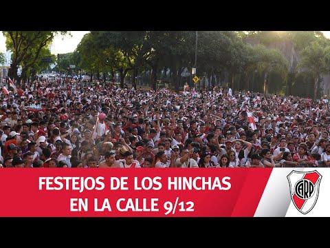 ¡TODOS CON LA CAMISETA! Festejos 9/12 en Núñez