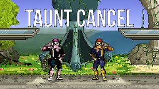 [SSF2] Taunt Canceling Guide