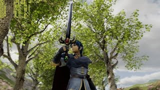 Smash Bros marth used in Unreal Engine 4 demo