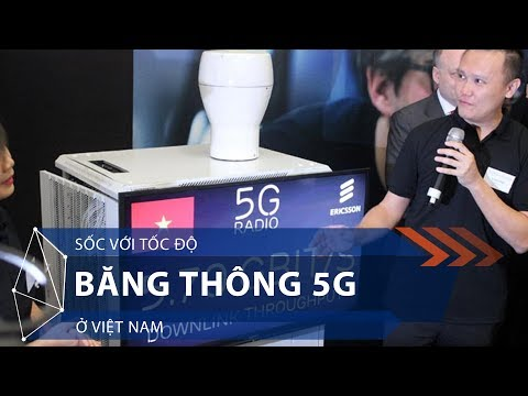 Sốc với tốc độ băng thông 5G ở Việt Nam | VTC1 - Thời lượng: 93 giây.