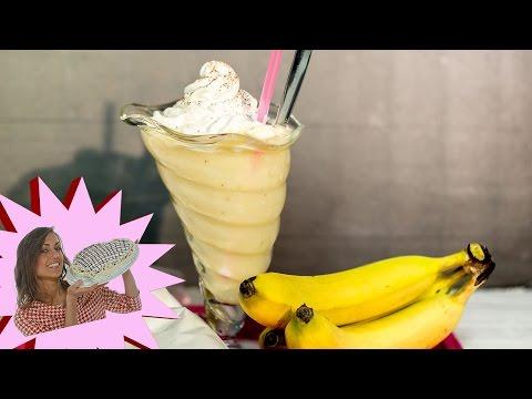 frappè alla banana - pronto in 10 minuti