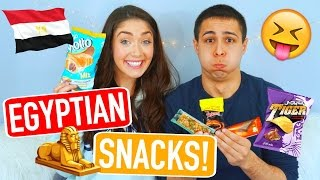 Video American Boyfriend & Girlfriend Taste Test Egyptian Snacks!   Trending With Tori MP3, 3GP, MP4, WEBM, AVI, FLV September 2019