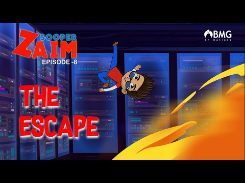 Sooper Zaim | Episode 8 | The Escape | Malayalam Animation Series | BMG