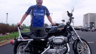 6. 2009 Harley-Davidson XL883C Sportster 883