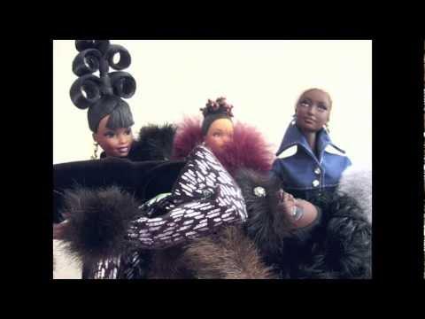 Mattel Barbie Cinnabar Sensations Byron Lars Runaway Noire Black Neuf NIB