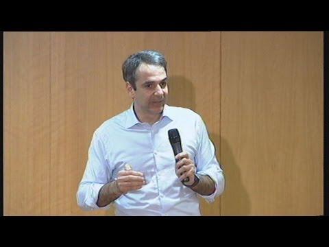 Κ. Μητσοτάκης: η ΝΔ προτάσσει ρεαλιστικό σχέδιο εξόδου από την κρίση