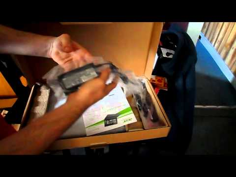 Video Unboxing: Acer Aspire E5-551-T374
