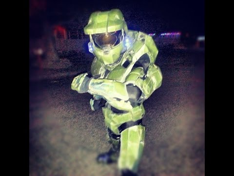 Master Chief 117 Armor Cosplay - Halo Video Game