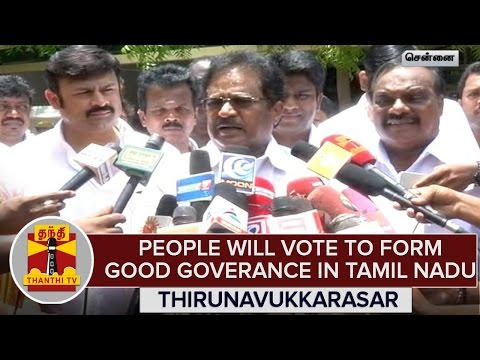 TN-Elections-2016--People-Will-Vote-To-Form-Good-Goverance--Thirunavukkarasar