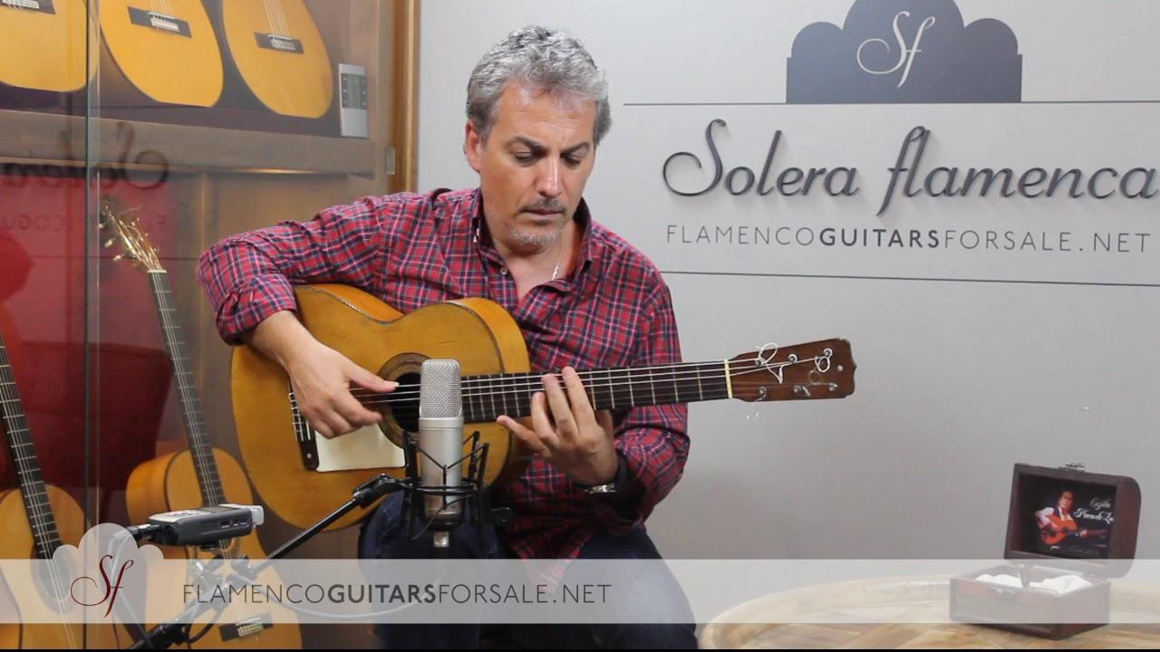 José Ramírez 1907 flamenco guitar for sale played by Pedro Javier González