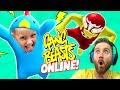 Download Lagu Gang Beasts ONLINE! KIDCITY vs the Internet | KIDCITY GAMING Mp3 Free