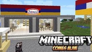 Video WOW!! Ada INDOMARET - Minecraft Comes Alive MP3, 3GP, MP4, WEBM, AVI, FLV Januari 2019