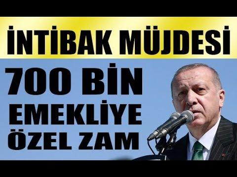 Erdoğan talimatı verdi! 2000 yılından sonra emekli olanlara intibak yasası müjdesi! HAYIRLI OLSUN