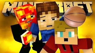 BASKETBALL DEATH MATCH! (Minecraft Hunger Games with Preston, Lachlan, and Woofless!)