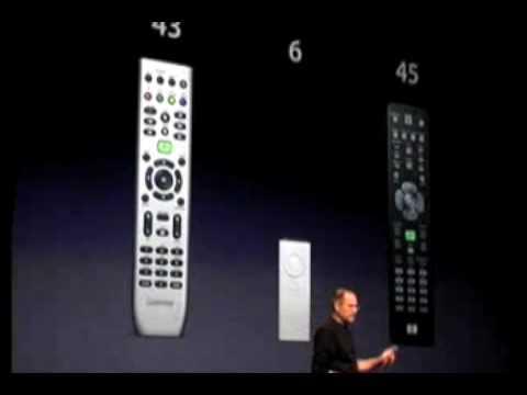 Steve Jobs' Apple Remote Comment