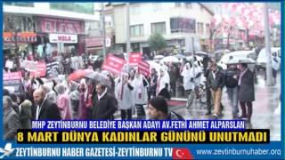 MHP Zeytinburnu Av Fethi Ahmet Alparslan Kadınları Unutmadı