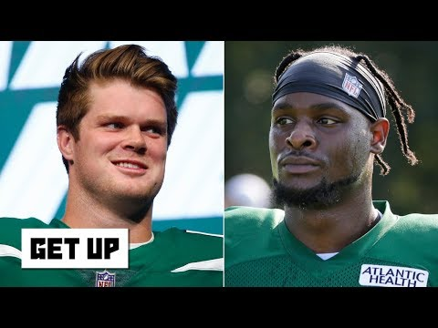 Video: Le'Veon Bell can make Sam Darnold one of the best QBs in the NFL - Domonique Foxworth   Get Up