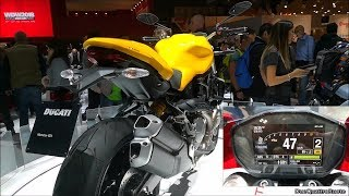 10. 2018 Ducati Monster 821 Bike and Display Overview