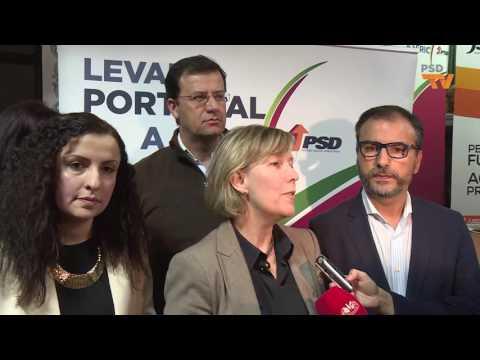 MARIA LUÍS ALBUQUERQUE COMENTA ATUALIDADE EM ÉVORA