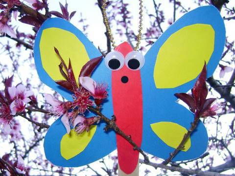 How to make a Puppet Butterfly