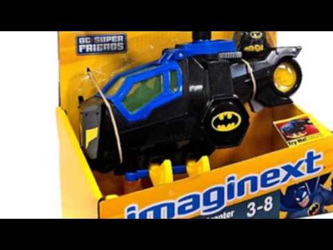 Video New  video for the Imaginext Dc Super Friends Helicopter