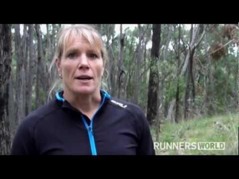 Deanna Blegg runs with HIV