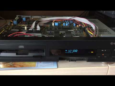 Commodore CDTV disassembly and laser adjustment