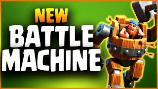 Video Official BATTLE MACHINE Spotlight NEW HERO | Builder Base Boat Update | Clash of Clans MP3, 3GP, MP4, WEBM, AVI, FLV Mei 2017