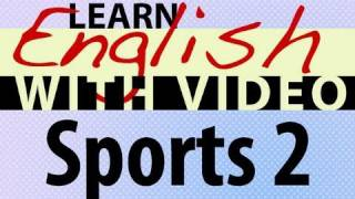 Sports 2 Video Lesson