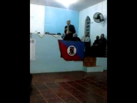Pregador Laertes Martins da Assembleia de Deus..