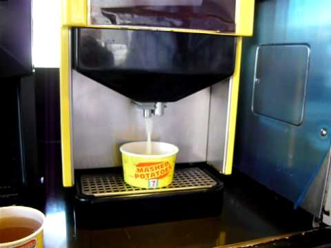 This 7-11 Has A Mashed Potato And Gravy Dispenser