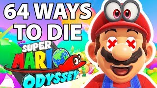 64 Ways to Die in Super Mario Odyssey