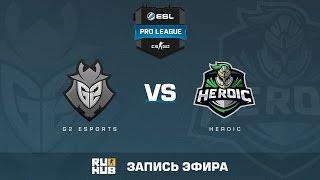 G2 eSports vs. Heroic - ESL Pro League S5 - de_train [Enkanis, yxo]