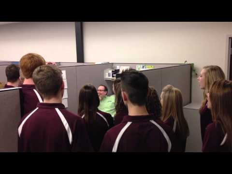 Buhler High School Choir Serenades Lowen IT