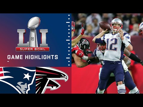 Patriots vs. Falcons | Super Bowl LI Game Highlights (видео)