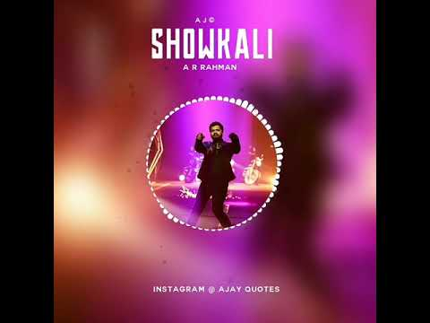 Video Showkali - AYM |A R rahman | Bgm | download in MP3, 3GP, MP4, WEBM, AVI, FLV January 2017