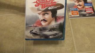 Here is a quick unboxing of the Smokey and the Bandit 40th Anniversary Edition on Blu-Ray. Walmart exclusive for a few months, which is where I got it, but then available everywhere else after that.