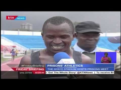 Wilson Kimetei, Nancy Nzisa and Stephen Barasa win at the Prisons Games
