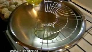 Жареные пирожки в посуде ВОК - видео рецепт