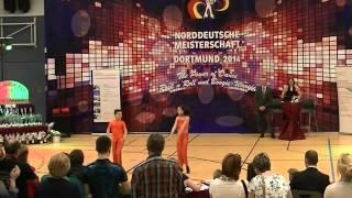 Vivien Seibel & Max Dudos - Norddeutsche Meisterschaft 2014