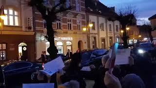 Żory witają prezydenta Dudę!