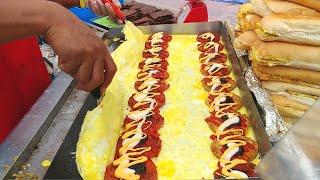 Video 🍔🍔🍔 Street Food CHICKEN & BEEF Burger | Ramly Burgers (鸡肉汉堡, 牛肉汉堡) MP3, 3GP, MP4, WEBM, AVI, FLV Agustus 2019