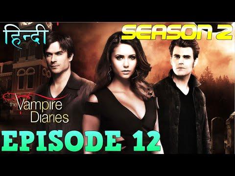 The Vampire Diaries Season 2 Episode 12  Explained Hindi  वैम्पायर डायरीज स्टोरी  WOLF KILLS ROSE