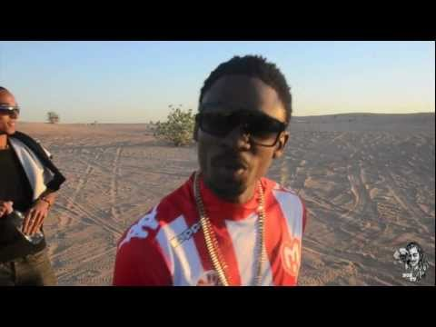Christopher Martin in Dubai - Day at the Desert