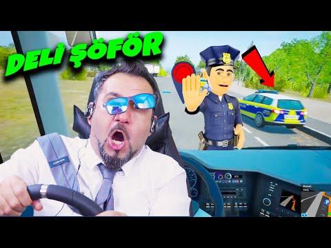 KAMİL KOÇ BENİ KOVACAK! DELİ ŞÖFÖR'Ü POLİS ÇEVİRDİ! YİNE KAZA YAPTIM! | FERNBUS OTOBÜS SİMÜLATÖRÜ